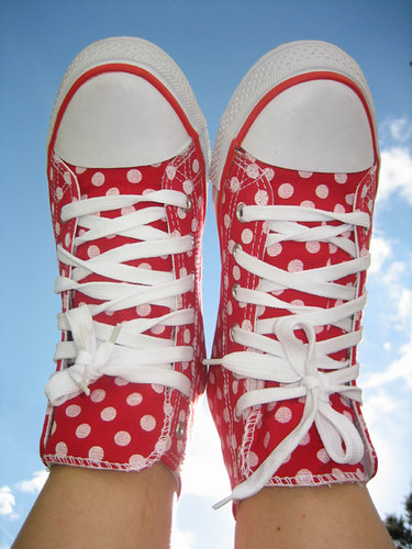 Polkadot shoes