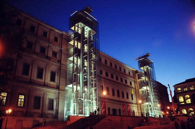 Museo nacional centro de arte reina sof a madrid a - Museo nacional centro de arte reina sofia ...