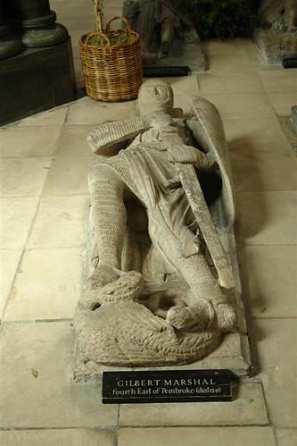 Efigie de Gilbert Marshall La iglesia del Temple de Londres y sus historia de Templarios - 2963428323 7c3a10cc30 - La iglesia del Temple de Londres y sus historia de Templarios