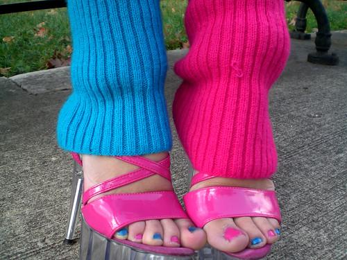 Cyan and Magenta by Lorena Cupcake