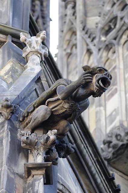 Prague gothic cathedral gargoyle | Explore Piermario ...