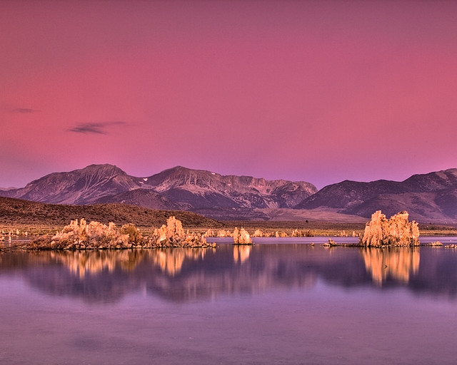 Mono Lake Alpenglow