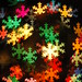 snow flake bokeh