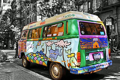Hippie Wagon I Created This On My Computer On Photoshop O Flickr