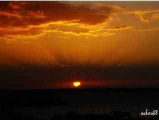 Anocher en la playa de Mar del Plata - Argentina