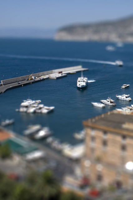 Sorrento Harbor Tilt-Shift