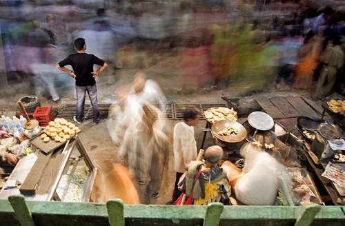 Bustling market@varanasi...