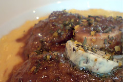 "Signature ""Ossobuco"" with saffron risott…"