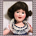 Deanna Durbin doll (framed)