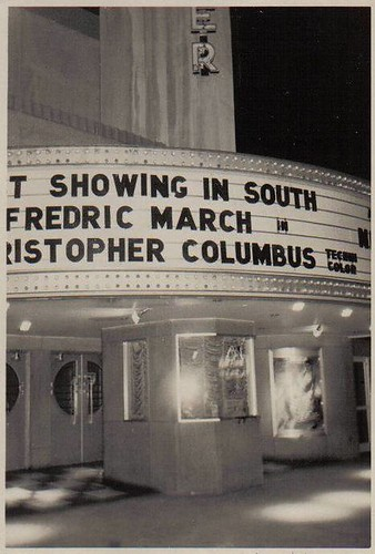 Center Theatre, Charlotte, NC ca1949-50