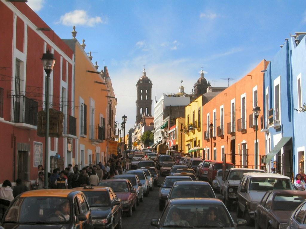 Von Oaxaca Nach Puebla