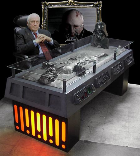 """Darth """"Dick Cheney"""" Vader"""