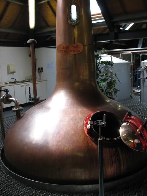 Arran Distillery -  Wash Still