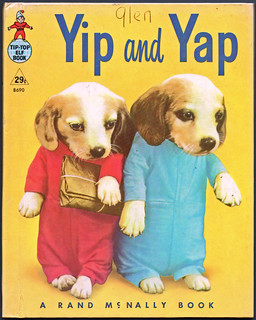 Yip and Yap. Now that's downright disturbing.