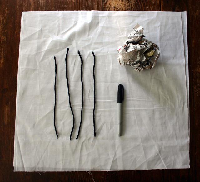 Ghost Garland: materials