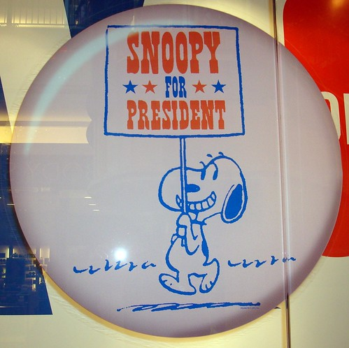 Vote For Me snoopy