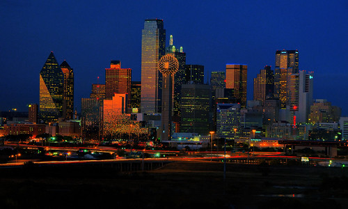 Dallas at Twilight
