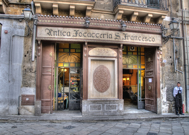Antica Focacceria S. Francesco HDR by sailorman627