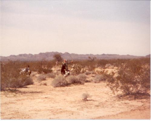 Great Desert War 1 - Attacking Castle