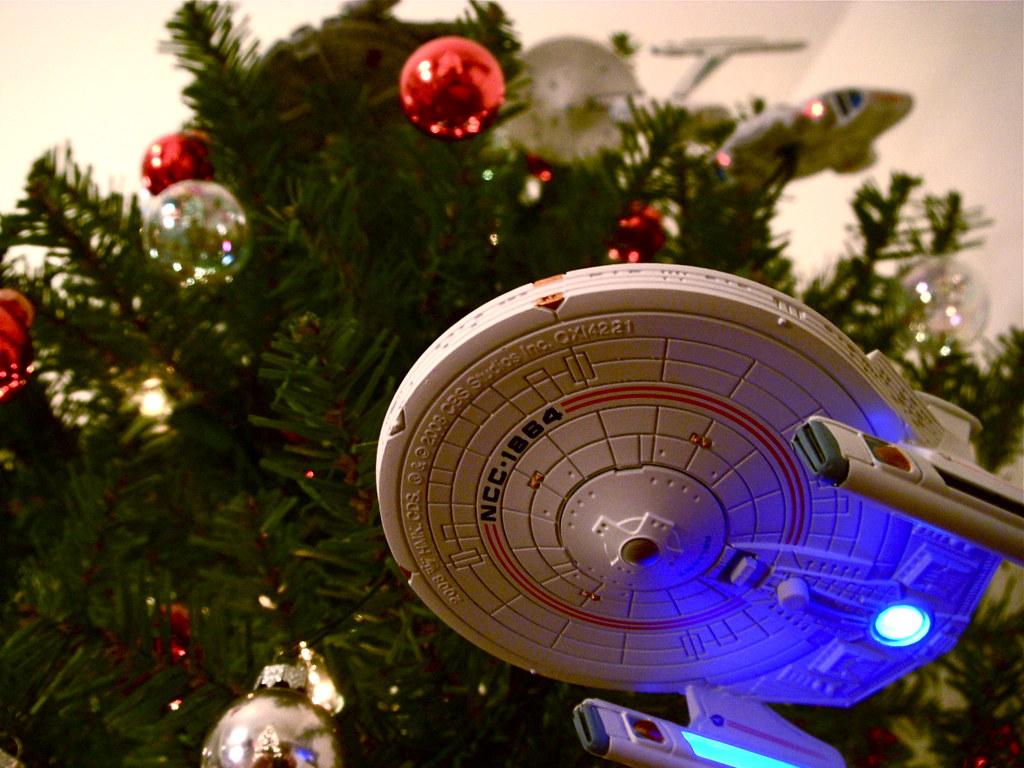 Starship Christmas Tree 10