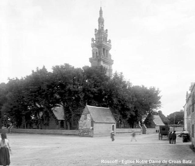 Roscoff - Place de l'église