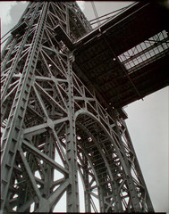 George Washington Bridge, Riverside Drive and 179th Street, ...