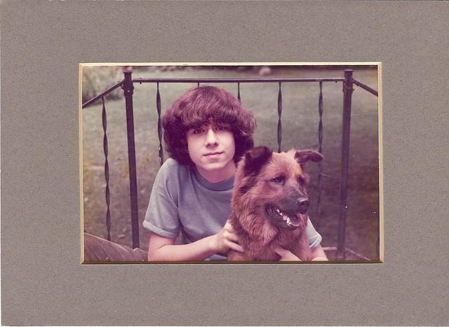 Rilla and me at age 14