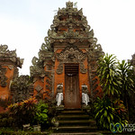 Entrance to Hindu Temple - Ubud, Bali