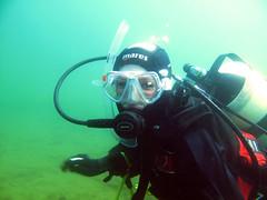 Yu Diving at Eccleston Delph