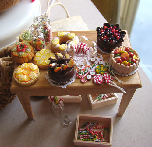 Dollhouse Miniature Food 1:12