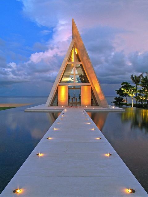Conrad Hotel Bali - Wedding Chappel I