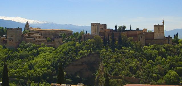 Alhambra y Palacio de Carlos V