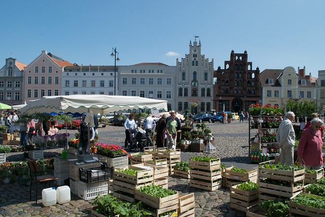 Wismar Germany  City new picture : Wismar, Germany | Market at Wismar | By: nydiscovery7 | Flickr Photo ...