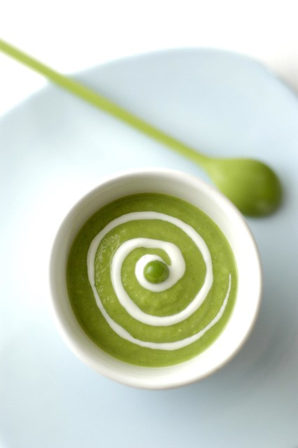 hypnotic peas soup