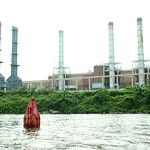 Co-op City Power Plant on the Hutchinson River, Bronx NYC