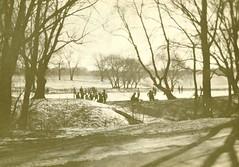 Skaters at Loose Park in Kansas City MO