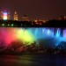 Niagara Falls at night by Mykelle