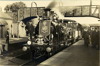 Coronation train, Penrith 1910