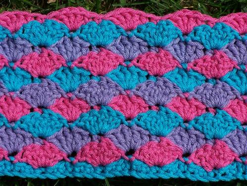 Crochet Shell Afghan Pattern Crochet Club