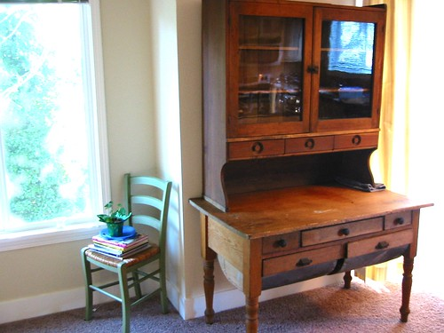 Antique Baker's Cabinet 014