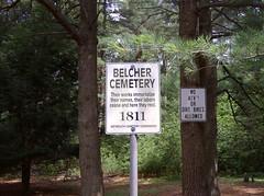 Belcher Cemetery, Weymouth Mass