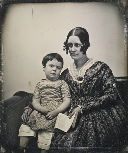 Unidentified Mother & Child