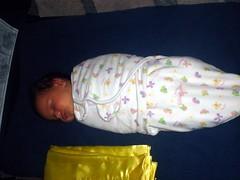 Stretching, sitting, sleeping