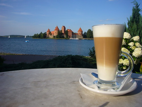 Coffee at Island Castle