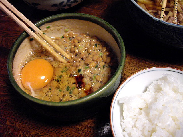 fermented soybeans / 納豆