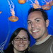 Bill, Isabelle, and jellyfish by Bill Selak
