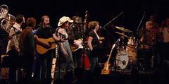 Levon Helm Band w/Glen Hansard, Steve Earle, Gillian Welch, David Rawlings @ SPAC