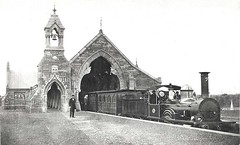 Mortuary Railway Station c.1865