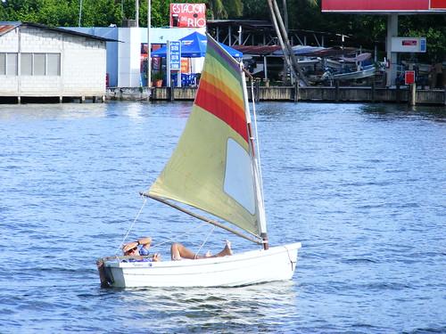 Dinghy Sailing