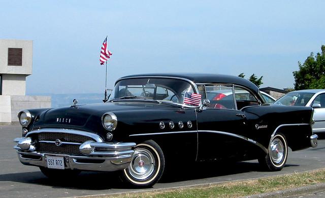 Black 1955 buick century 2 door hardtop from maine for 1955 buick 2 door hardtop